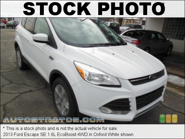 Stock photo for this 2013 Ford Escape SE 1.6L EcoBoost 4WD 1.6 Liter DI Turbocharged DOHC 16-Valve Ti-VCT EcoBoost 4 Cylind 6 Speed SelectShift Automatic