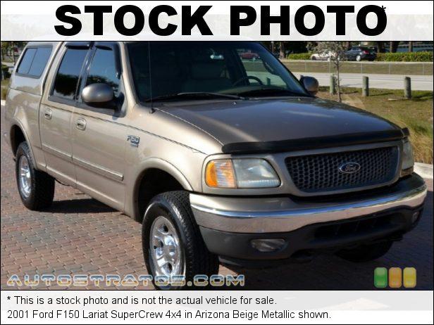 Stock photo for this 2001 Ford F150 SuperCrew 4x4 5.4 Liter SOHC 16-Valve Triton V8 4 Speed Automatic