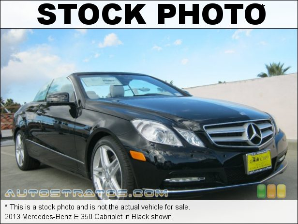 Stock photo for this 2013 Mercedes-Benz E 350 Cabriolet 3.5 Liter DI DOHC 24-Valve VVT V6 7 Speed Automatic