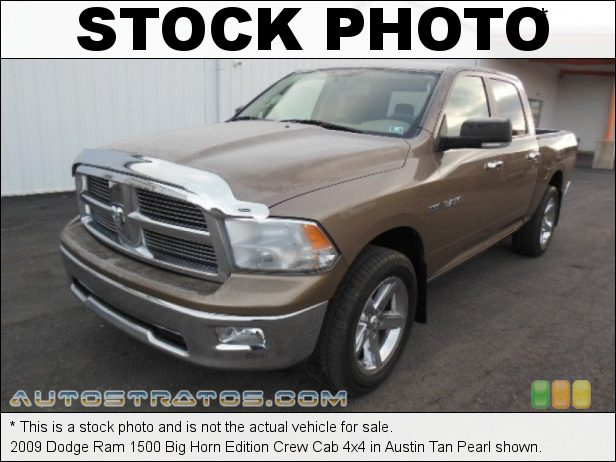 Stock photo for this 2009 Dodge Ram 1500 Regular Cab 4x4 4.7 Liter SOHC 16-Valve Flex-Fuel V8 5 Speed Automatic