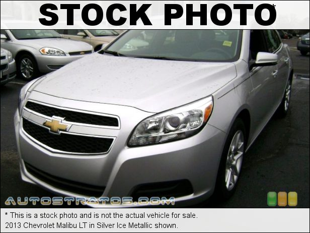 Stock photo for this 2013 Chevrolet Malibu LT 2.5 Liter Ecotec DI DOHC 16-Valve VVT 4 Cylinder 6 Speed Automatic