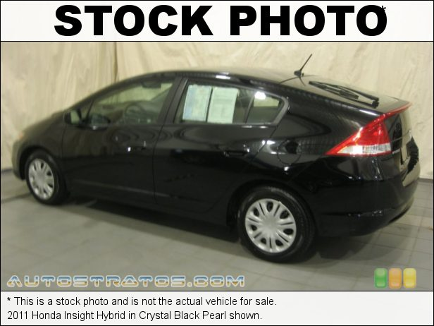 Stock photo for this 2011 Honda Insight Hybrid 1.3 Liter SOHC 8-Valve i-VTEC IMA 4 Cylinder Gasoline/Electric H CVT Automatic