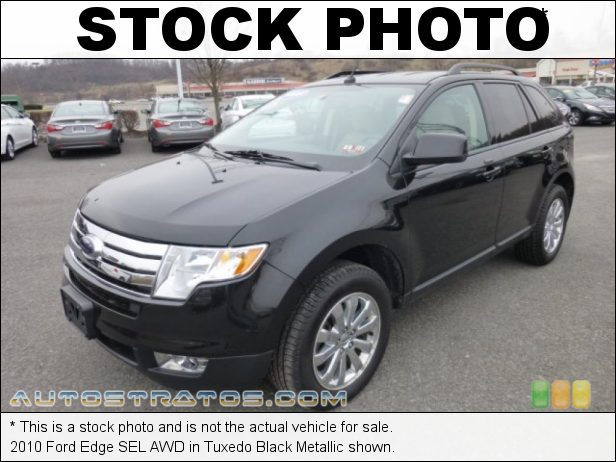 Stock photo for this 2010 Ford Edge SEL AWD 3.5 Liter DOHC 24-Valve iVCT Duratec V6 6 Speed Automatic