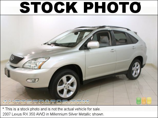 Stock photo for this 2007 Lexus RX 350 AWD 3.5 Liter DOHC 24-Valve VVT V6 5 Speed Automatic