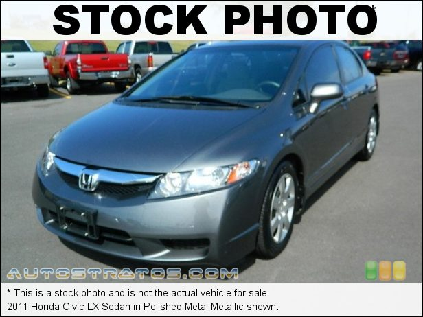 Stock photo for this 2011 Honda Civic LX Sedan 1.8 Liter SOHC 16-Valve i-VTEC 4 Cylinder 5 Speed Automatic