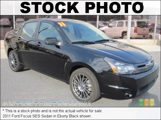 Stock photo for this 2011 Ford Focus SES Sedan 2.0 Liter DOHC 16-Valve Duratec 20 4 Cylinder 4 Speed Automatic