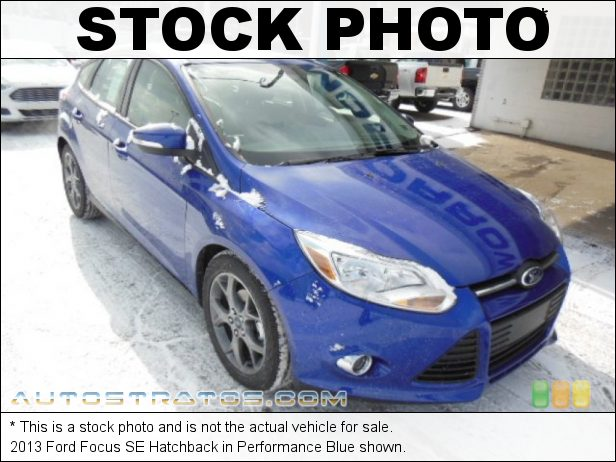 Stock photo for this 2013 Ford Focus SE Hatchback 2.0 Liter GDI DOHC 16-Valve Ti-VCT Flex-Fuel 4 Cylinder 5 Speed Manual