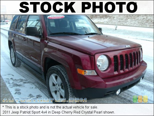 Stock photo for this 2011 Jeep Patriot 4x4 2.4 Liter DOHC 16-Valve VVT 4 Cylinder 5 Speed Manual