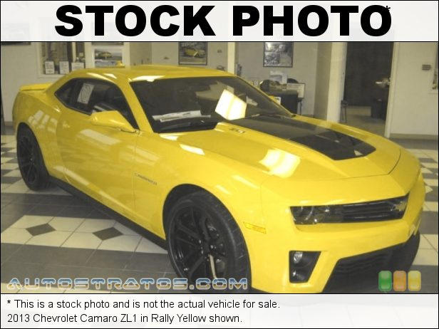 Stock photo for this 2013 Chevrolet Camaro ZL1 6.2 Liter Eaton Supercharged OHV 16-Valve LSA V8 6 Speed Manual