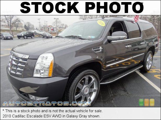 Stock photo for this 2010 Cadillac Escalade ESV AWD 6.2 Liter OHV 16-Valve VVT Flex-Fuel V8 6 Speed Automatic