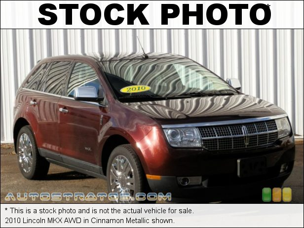 Stock photo for this 2010 Lincoln MKX AWD 3.5 Liter DOHC 24-Valve VVT V6 6 Speed Automatic