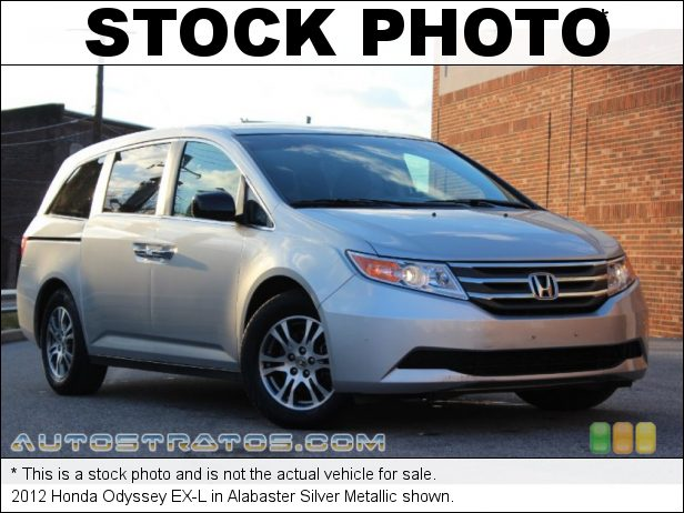 Stock photo for this 2012 Honda Odyssey EX-L 3.5 Liter SOHC 24-Valve i-VTEC V6 5 Speed Automatic