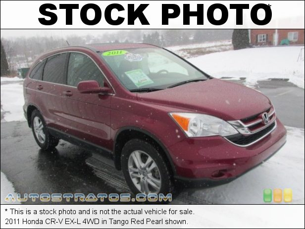 Stock photo for this 2011 Honda CR-V EX-L 4WD 2.4 Liter DOHC 16-Valve i-VTEC 4 Cylinder 5 Speed Automatic