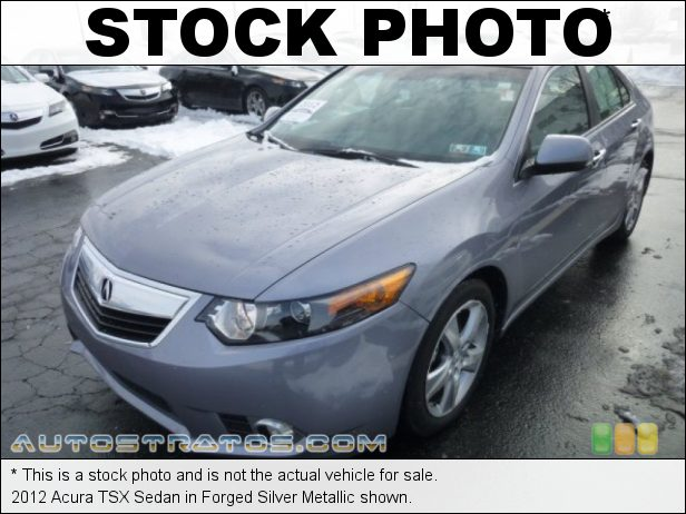 Stock photo for this 2012 Acura TSX Sedan 2.4 Liter DOHC 16-Valve VTEC 4 Cylinder 5 Speed Sequential SportShift Automatic