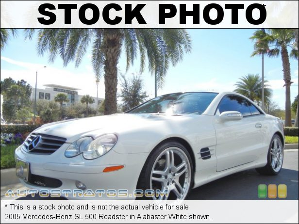 Stock photo for this 2005 Mercedes-Benz SL 500 Roadster 5.0 Liter SOHC 24-Valve V8 7 Speed Automatic