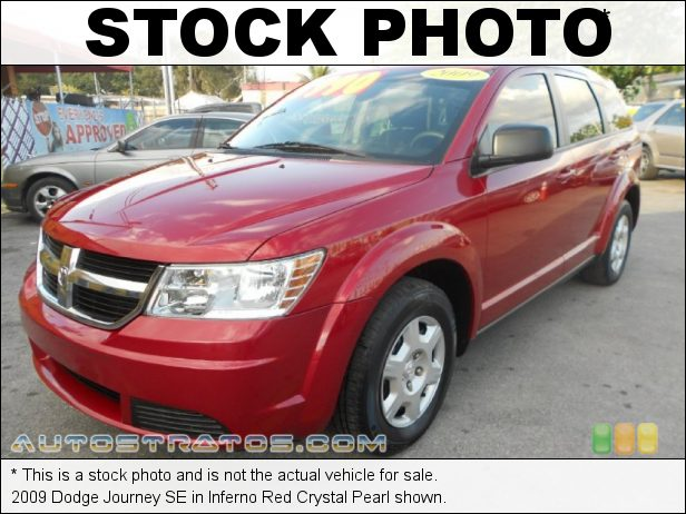 Stock photo for this 2009 Dodge Journey SE 2.4 Liter DOHC 16-Valve Dual VVT 4 Cylinder 4 Speed VLP Automatic
