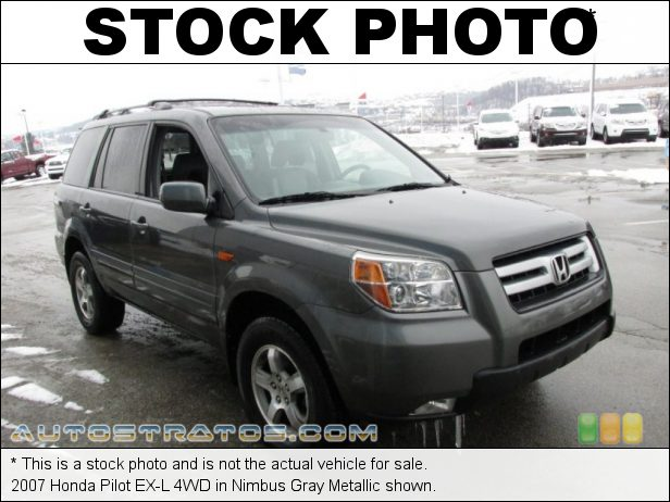 Stock photo for this 2007 Honda Pilot EX-L 4WD 3.5 Liter SOHC 24-Valve VTEC V6 5 Speed Automatic