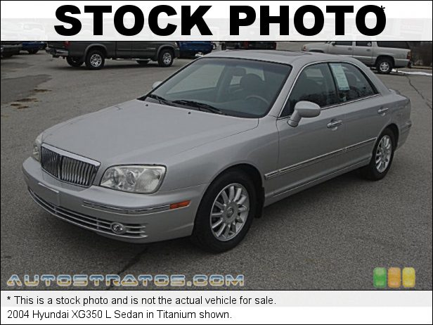 Stock photo for this 2003 Hyundai XG350 L Sedan 3.5 Liter DOHC 24-Valve V6 5 Speed Automatic