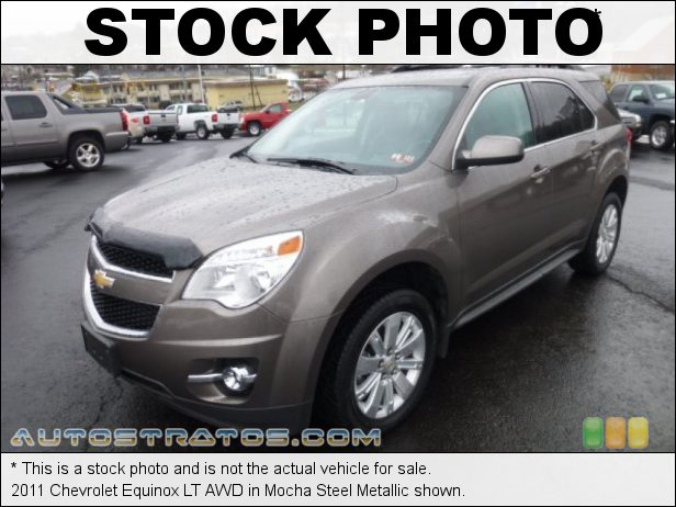 Stock photo for this 2011 Chevrolet Equinox LT AWD 3.0 Liter SIDI DOHC 24-Valve VVT V6 6 Speed Automatic
