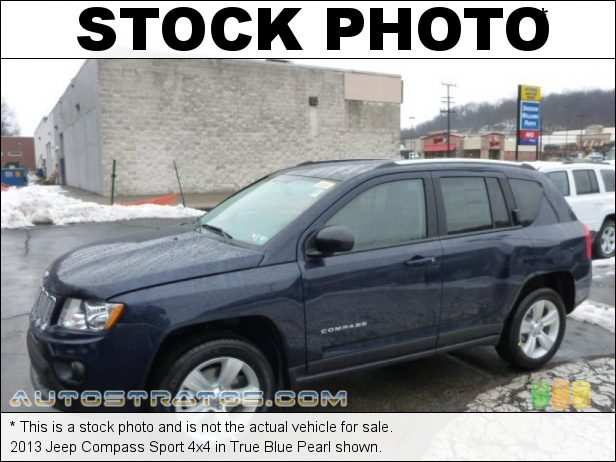Stock photo for this 2013 Jeep Compass Sport 4x4 2.4 Liter DOHC 16-Valve Dual VVT 4 Cylinder CVT II Automatic
