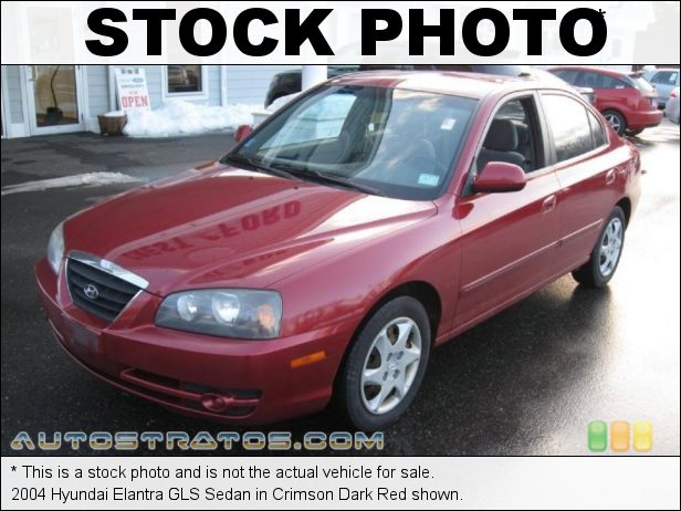 Stock photo for this 2004 Hyundai Elantra GLS Sedan 2.0 Liter DOHC 16 Valve 4 Cylinder 4 Speed Automatic