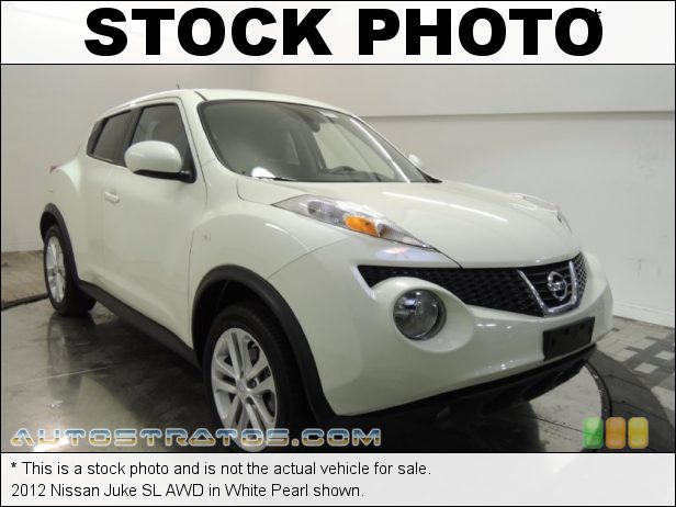 Stock photo for this 2012 Nissan Juke AWD 1.6 Liter DIG Turbocharged DOHC 16-Valve CVTCS 4 Cylinder Xtronic CVT Automatic