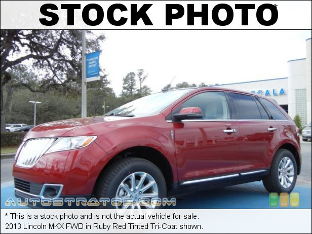 Stock photo for this 2013 Lincoln MKX FWD 3.7 Liter DOHC 24-Valve Ti-VCT V6 6 Speed SelectShift Automatic