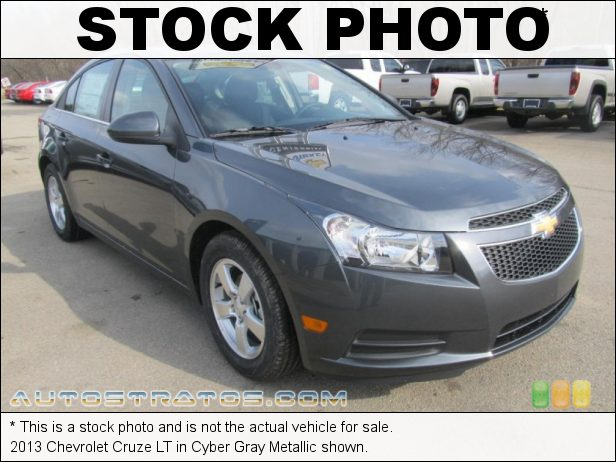 Stock photo for this 2013 Chevrolet Cruze  1.4 Liter DI Turbocharged DOHC 16-Valve VVT 4 Cylinder 6 Speed Automatic