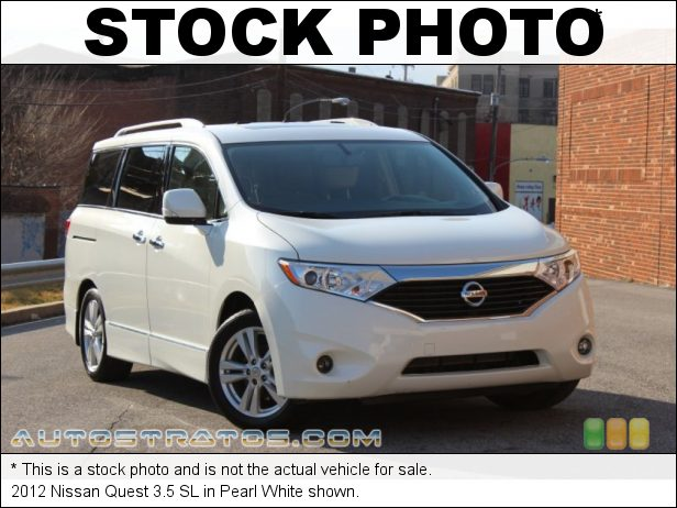 Stock photo for this 2012 Nissan Quest 3.5 3.5 Liter DOHC 24-Valve CVTCS V6 Xtronic CVT Automatic