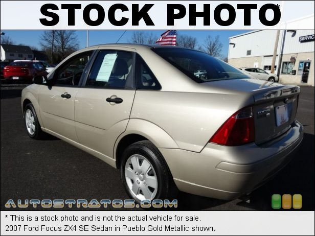 Stock photo for this 2007 Ford Focus ZX4 Sedan 2.0 Liter DOHC 16-Valve 4 Cylinder 4 Speed Automatic