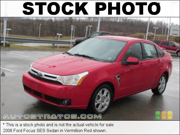 Stock photo for this 2008 Ford Focus Sedan 2.0L DOHC 16V Duratec 4 Cylinder 5 Speed Manual