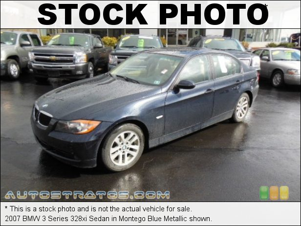 Stock photo for this 2007 BMW 3 Series 328xi Sedan 3.0L DOHC 24V VVT Inline 6 Cylinder 6 Speed Steptronic Automatic