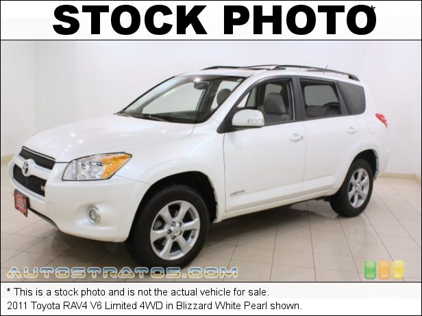 Stock photo for this 2011 Toyota RAV4 V6 Limited 4WD 3.5 Liter DOHC 16-Valve Dual VVT-i V6 5 Speed ECT-i Automatic