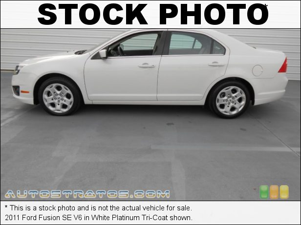 Stock photo for this 2011 Ford Fusion SE V6 3.0 Liter DOHC 24-Valve VVT Duratec V6 6 Speed SelectShift Automatic