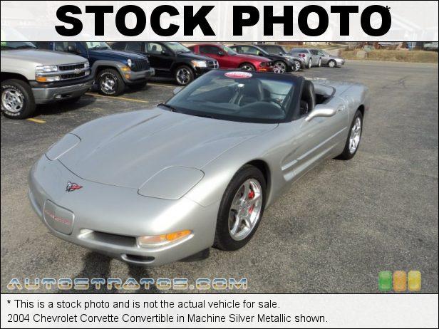 Stock photo for this 2004 Chevrolet Corvette Convertible 5.7 Liter OHV 16-Valve LS1 V8 4 Speed Automatic