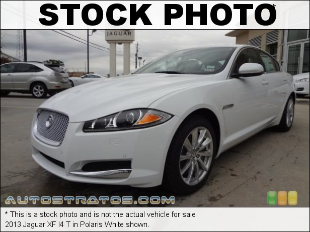 Stock photo for this 2013 Jaguar XF I4 T 2.0 Liter Turbocharged DOHC 16-Valve VVT 4 Cylinder 8 Speed Sequential Shift Automatic