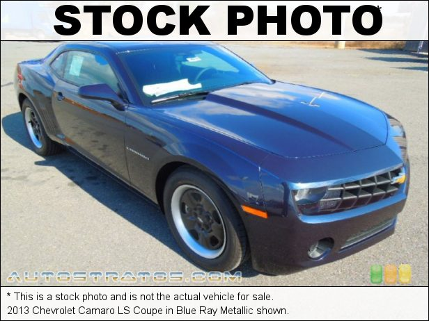 Stock photo for this 2013 Chevrolet Camaro LS Coupe 3.6 Liter DI DOHC 24-Valve VVT V6 6 Speed TAPshift Automatic