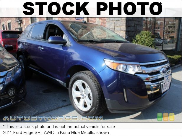 Stock photo for this 2011 Ford Edge SEL AWD 3.5 Liter DOHC 24-Valve TiVCT V6 6 Speed SelectShift Automatic