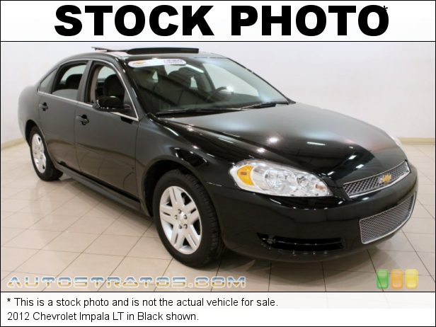Stock photo for this 2012 Chevrolet Impala LT 3.6 Liter SIDI DOHC 24-Valve VVT Flex-Fuel V6 6 Speed Automatic