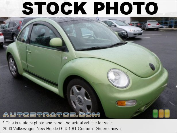 Stock photo for this 2002 Volkswagen New Beetle GLX 1.8T Coupe 1.8L Turbocharged DOHC 20V 4 Cylinder 4 Speed Automatic