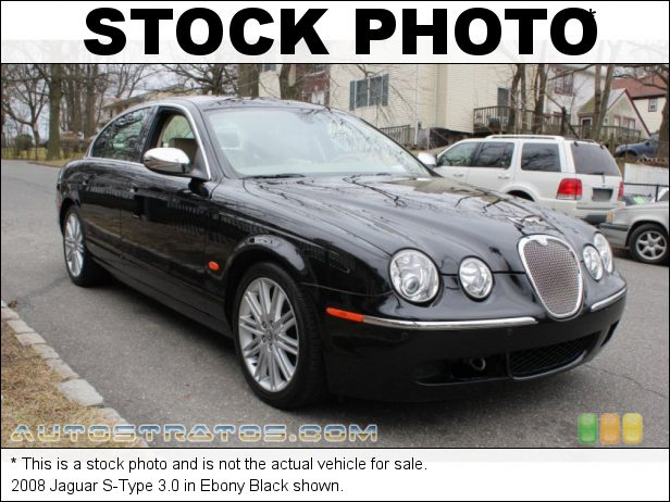 Stock photo for this 2008 Jaguar S-Type 3.0 3.0 Liter DOHC 24-Valve VVT V6 6 Speed Automatic