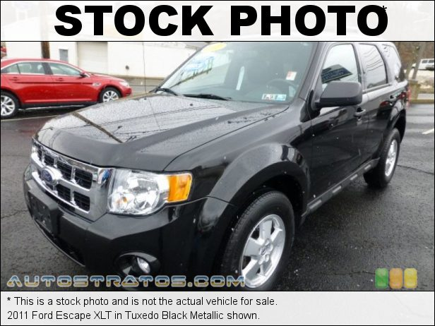 Stock photo for this 2011 Ford Escape XLT 2.5 Liter DOHC 16-Valve Duratec 4 Cylinder 6 Speed Automatic