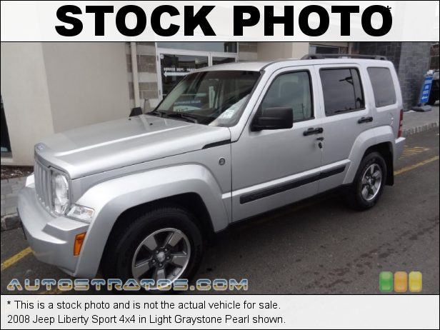 Stock photo for this 2008 Jeep Liberty Sport 4x4 3.7 Liter SOHC 12 Valve V6 4 Speed Automatic