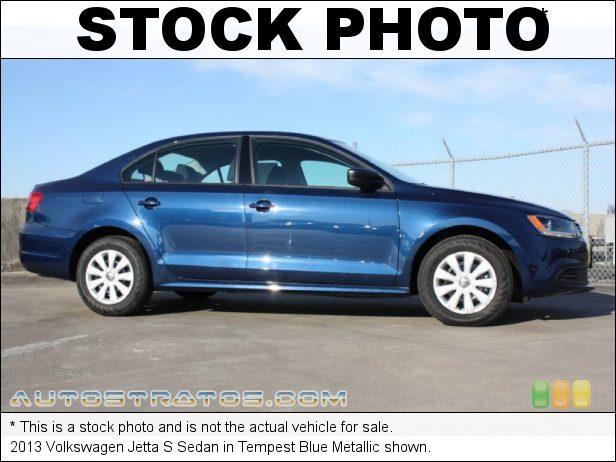 Stock photo for this 2013 Volkswagen Jetta S Sedan 2.0 Liter SOHC 8-Valve 4 Cylinder 6 Speed Tiptronic Automatic