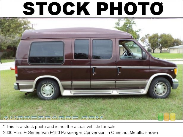 Stock photo for this 2003 Ford E Series Van E150 Passenger Conversion 5.4 Liter SOHC 16-Valve V8 4 Speed Automatic