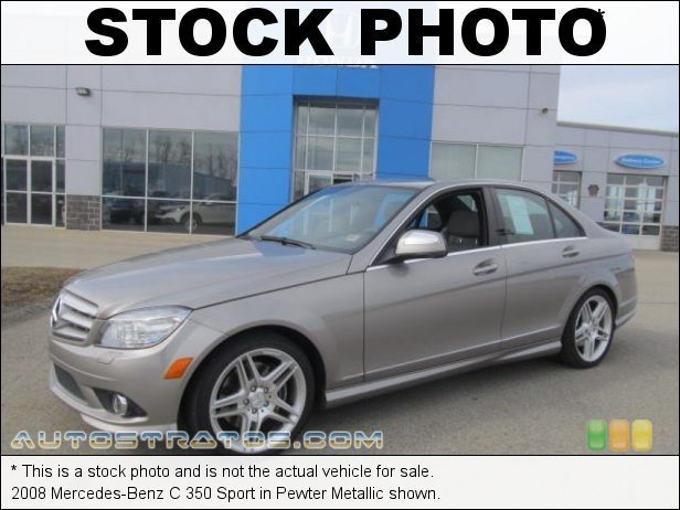 Stock photo for this 2008 Mercedes-Benz C 350 Sport 3.5 Liter DOHC 24-Valve VVT V6 7 Speed Automatic