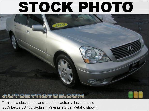 Stock photo for this 2003 Lexus LS 430 Sedan 4.3L DOHC 32V VVT-i V8 5 Speed Automatic