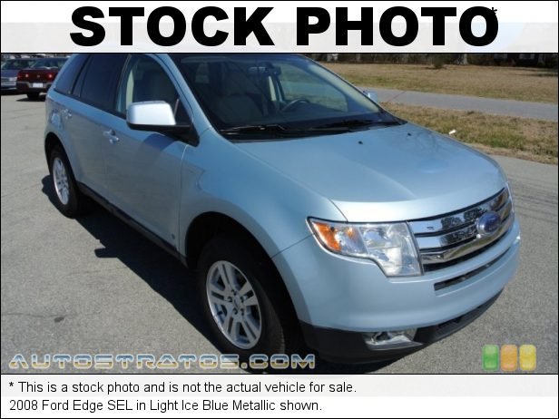 Stock photo for this 2008 Ford Edge SEL 3.5 Liter DOHC 24-Valve VVT Duratec V6 6 Speed Automatic