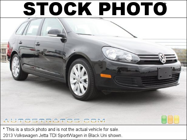 Stock photo for this 2013 Volkswagen Jetta TDI SportWagen 2.0 Liter TDI DOHC 16-Valve Turbo-Diesel 4 Cylinder 6 Speed Manual
