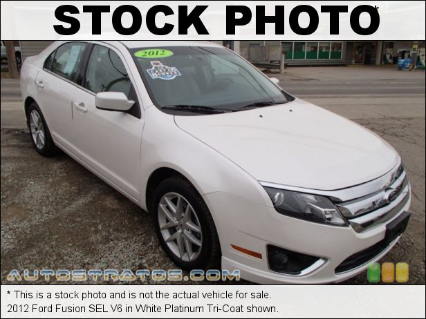 Stock photo for this 2012 Ford Fusion SEL V6 3.0 Liter Flex-Fuel DOHC 24-Valve VVT Duratec V6 6 Speed Selectshift Automatic